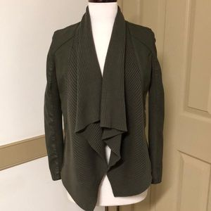 Blank NYC Open front sweater jacket